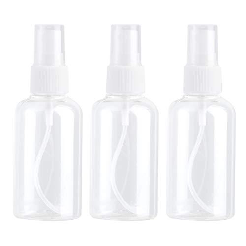 Frcolor 75ml Fine brume pulvérisateur vide vaporisateurs de parfum composent l'eau pack de 3pcs(Random Color)