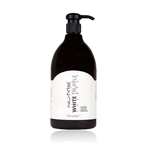 NuMe Hydrating Anti-frizz Paraben free Shampoo for Dry Hair - White Truffle, Black Orchid, Jasmine and Evening Primrose, 32 oz