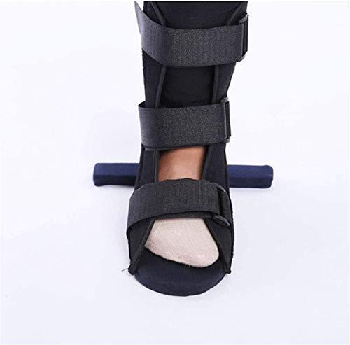 Pie de gota □ Soporte para el soporte de tobillo de pie de gota Ortesis de gota de pie ajustable para la rehabilitación de la fractura del resorte de la articulación del tobillo, ortesis acolc
