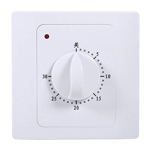 Interruptor de temporizador de cuenta regresiva de 30 minutos, enchufe de control de temporizador digital