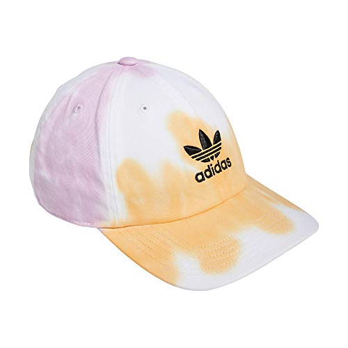 adidas Originals - Gorra para Hombre con Tirantes, Hombre, Gorro/Sombrero, 975950, Naranja/Lavado de Color, Talla única