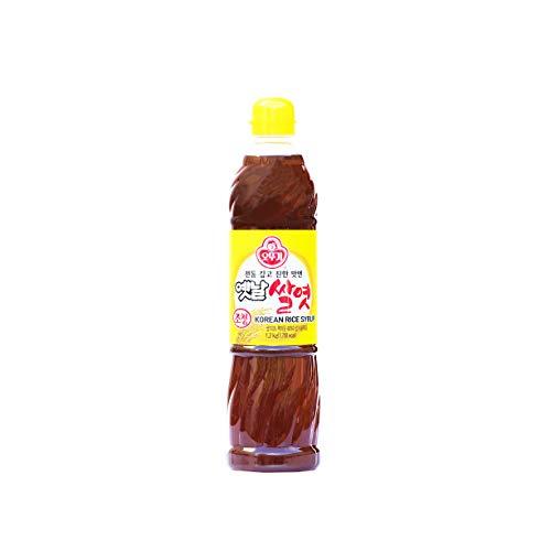 Ottogi 100% Korean Rice Syrup, 700 Grams/24 Ounces (Jocheong, Yetnal Ssalyeot)