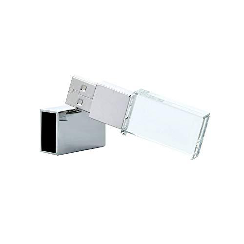 Gymy ZSUSJ02 Crystal USB Flash Drive 16 GB/32 GB/64 GB Pendrive disco de memoria de almacenamiento externo de alta velocidad Disco U (color: 16 GB)