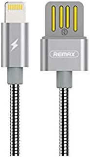 Remax metal data and chargibg high speed cable LIGHTNING rc-080i - SILVER
