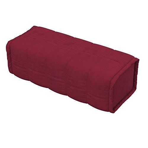 Soferia Fodera Extra Ikea BEDDINGE Cuscino Quadrato, Tessuto Majestic Velvet Wine Red