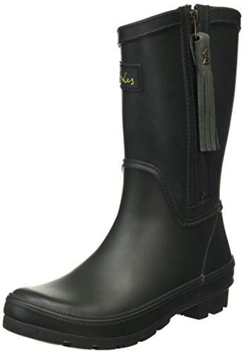 Joules Women's Rosalind Rain Boot, Dark Everglade, 5 UK