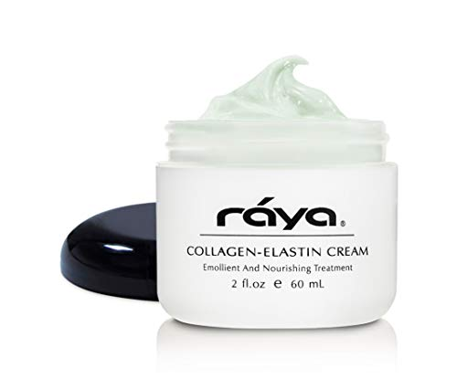 RAYA Collagen-Elastin Cream (401)   Nourishing and Moisturizing Facial Treatment for Dry Skin   Helps Reduce Fine Lines and Wrinkles   Calms, Tones, Refines, and Firms