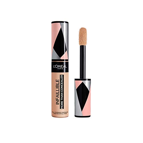 L'Oréal Paris Infaillible More Than Concealer Nr. 326 Vanilla hochpigmentierter Concealer, extra großer Applikator, langanhaltend, 11 ml