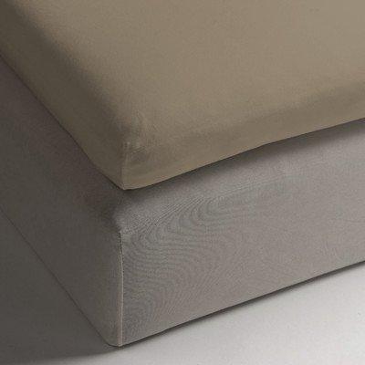 Heckett Lane Hoeslaken, 100% katoen, perkal, 90 x 210 + 12 cm. Puur goud.