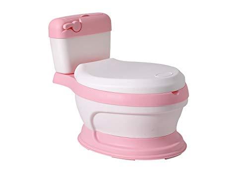 Glenmore Baby WC Toilette Kinder Klo Topf Potty fuer Jungen mit Deckel Rosa