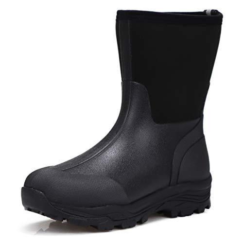 [ミツウマ] メンズ 紳士 防寒長靴 シーザーウルフ No.2037MU (ブラック, measurement_27_point_5_centimeters)