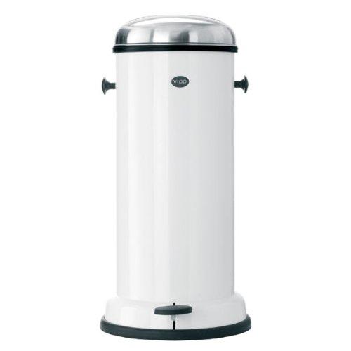 Vipp16 Treteimer 18 Liter, Weiß