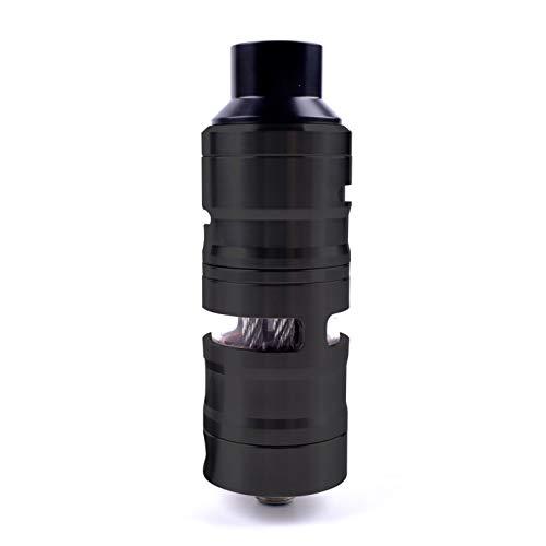 ShuiKBest ShenRay GEVOLUTION V2 23mm &25mm RDTA 316SS Rebuildable Tank Atomizer 4ML Electronic Cigarette Vape Tank Vaporizer (Black, 23mm)