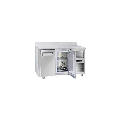 Table Réfrigérée Négative 2 Portes GN 1/1 avec Dosseret - Profondeur 700 - Cool Head - 700