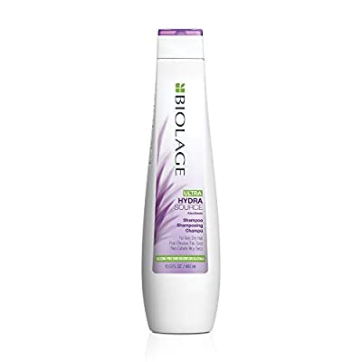 BIOLAGE Ultra Hydrasource Shampoo | Extremely Moisturizes Hair to Prevent Breakage | Silicone & Paraben-Free | for Very Dry Hair
