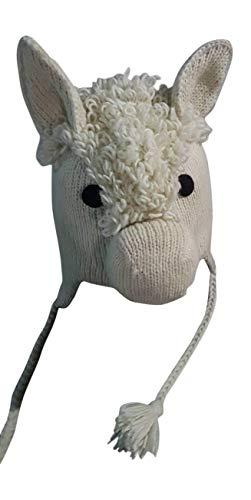 BZANY Llama Pom Pom Knit Hat