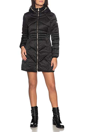 YES-ZEE Cappotto Donna Mod. O017M800 Nero S
