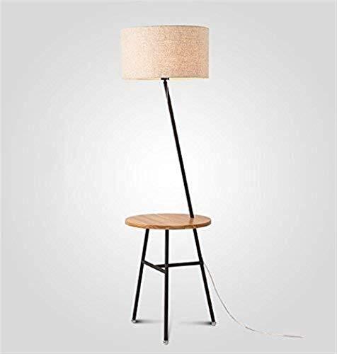 BXU-BG Lámparas de pie, Led Sala de estar minimalista moderno mobiliario de la mesa de centro dormitorio creativo Eye-El cuidado de luz vertical 🔥