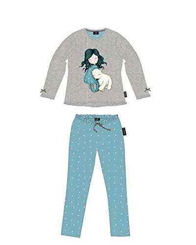 SANTORO - Pijama cálido de algodón con personaje 8/10/12/