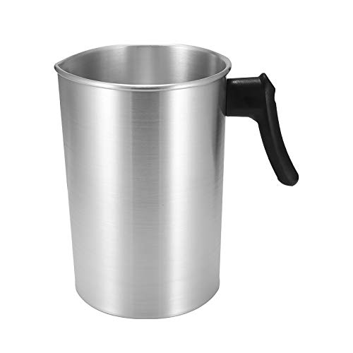 Verdelife Melting Pot, 3L Stainless Steel Pot Wax Smelting, Candle Melting Pot, Household DIY Candle Shop Inverted Pot, Used to Make Candles and Soap Crafts