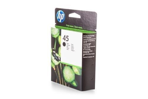 HP 51645AE / 45 - Cartucho de Tinta para Impresora DeskJet 930 C Premium, Color Negro, 930 páginas, 42 ml