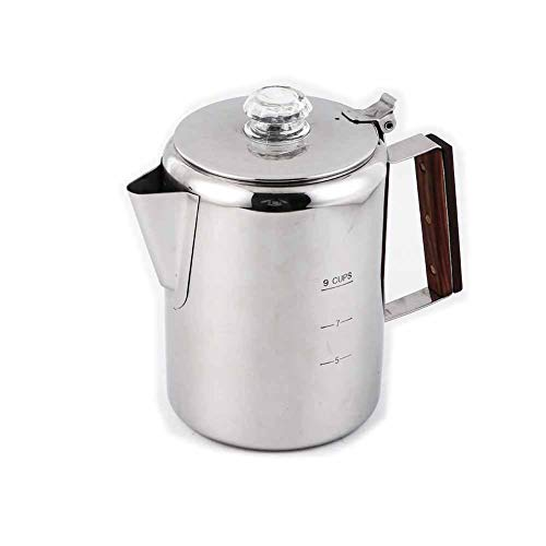 APOXCON Coffee Maker Percolator Pot 304 Stainless Steel for Camping Outdoor...