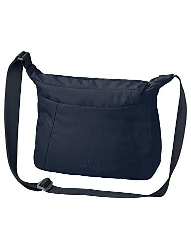 Jack Wolfskin Damen Umhängetasche VALPARAISO BAG praktische Schultertasche, midnight blue, ONE SIZE