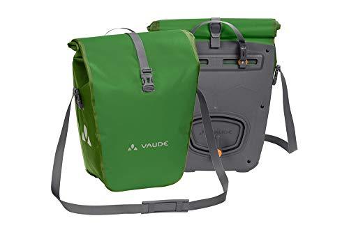 VAUDE Aqua Back Fahrrad Tasche – wasserdichte Gepäckträger Tasche im praktischen 2er Set – Fahrradtasche aus robustem & PVC-freiem Planenmaterial – Made in Germany