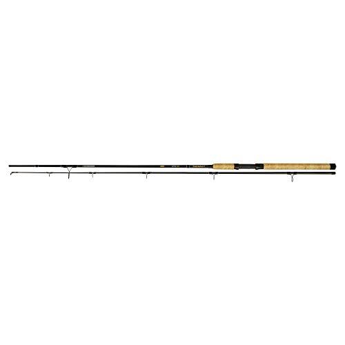 Zebco Trophy Spin - Caña de Pescar (2,70 m), Color Negro