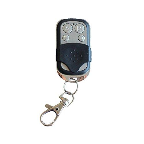 Mando a Distancia con copiador para Puerta de Garaje, Portal, Alarma, Coche, 433MHz, Color Plata