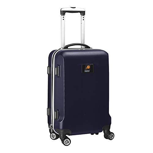 %20 OFF! Denco NBA Phoenix Suns Carry-On Hardcase Luggage Spinner, Navy