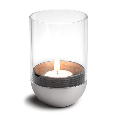 höfats - Gravity Candle M90 - Windlicht und Teelichthalter - hält Kerze waagerecht - bequemes Anzünden und Erlöschen