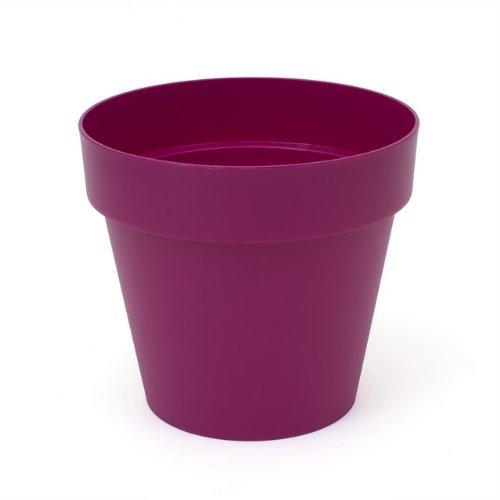 Prosper Plast Dcub300–235 C 30 x 26.6 cm Cube Pot de Fleurs – Fuchsia (12 pièces)