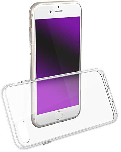 COVERbasics Cover Compatibile con iPhone 7/8/SE 2020 (SOFTCASE) Custodia Trasparente in Silicone Gel TPU Antiurto con Bordo Anteriore Salvaschermo