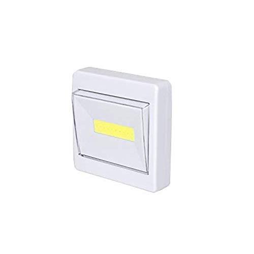 Fovor COB interruptor de emergencia luz LED interruptor lámpara para armario cobertizo