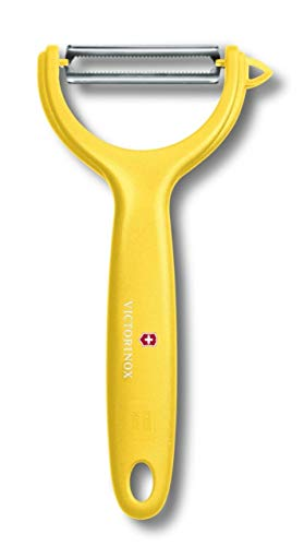 Victorinox Tomato/Kiwi peeler with stainless serrated edge 12cm in yellow, 30 x 5 x 5 cm