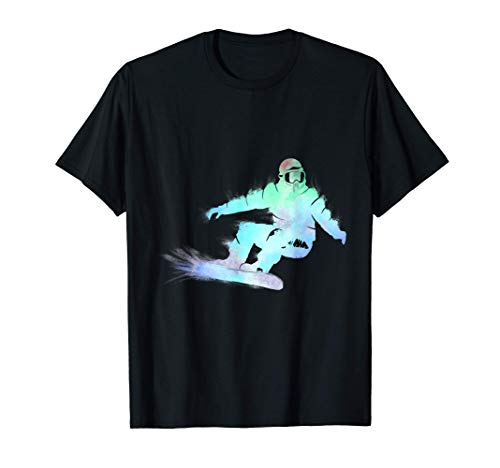 Snowboard Snowboarder Wintersport Ski Design | Mann Frau T-Shirt