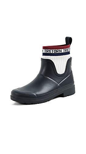 TRETORN Women's Lia Rain Boots, Night/Vintage White, 9 M US