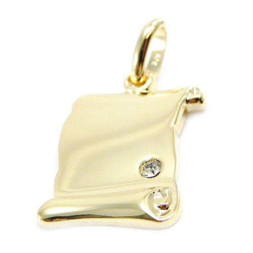 Altesse G2336 - Plated medaille gold 'Parchemin'