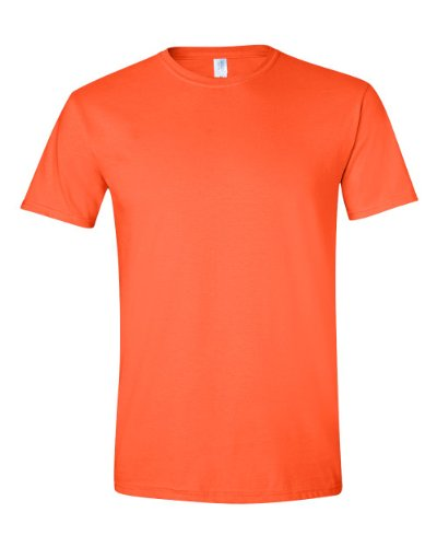 Gildan Softstyle TM Adult Ringspun T-Shirt Orange L L,Orange
