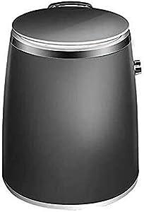 Machine à laver portative de mini machine à laver, machine à laver électrique portative simple de cuve Lave-linge semi-automatique Lave-linge compact avec panier de déshydratation pour appartemen