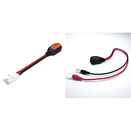 CTEK Comfort Connect Plug Adapter & Comfort Connect Direct Connect Adapter (M8 Muttern), Ideal Für Schwer Erreichbare Batterien, 40cm Kabellänge
