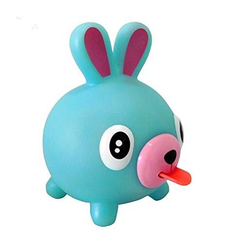 Sprechen Tier Jabber Ball Zunge aus Stress abbauen Soft Ball Spielzeug für Kinder, Oshaberi Doubutsu Stressabbau Squishy Ball Geschenk Zappeln Hand Ball Spielzeug für Kinder Erwachsene (Hase)