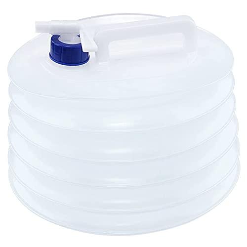 CYSJ Bidón de Agua Contenedor de agua Plegable bidón de agua portátil,ovalados...