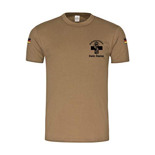 Copytec Bw Tropen Rettungssanitäter Personalisiert Rettungsdienst Sanitäter #34093, Größe:M, Farbe:Khaki