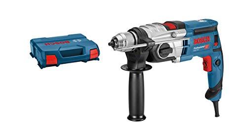Bosch Professional GSB 20-2 - Taladro percutor (850 W, 2 velocidades, 3000 rpm, Ø max perforación hormigón 18 mm, en maletín)