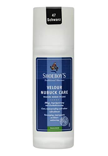 Shoeboys Wildleder Schuhcreme - Schuhcreme Nubuk (100ml = 7,93 EUR) Schwarz