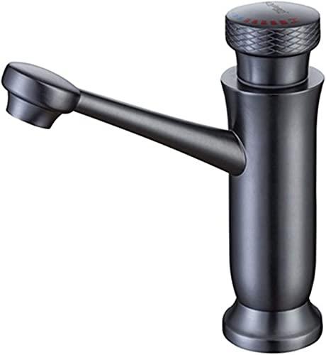 ZRN Torneira de cozinha de latão, torneira de Mistura de água Quente e Fria com Interruptor rotativo, torneira de lavatório de alavanca única, usada na cozinha, banheiro