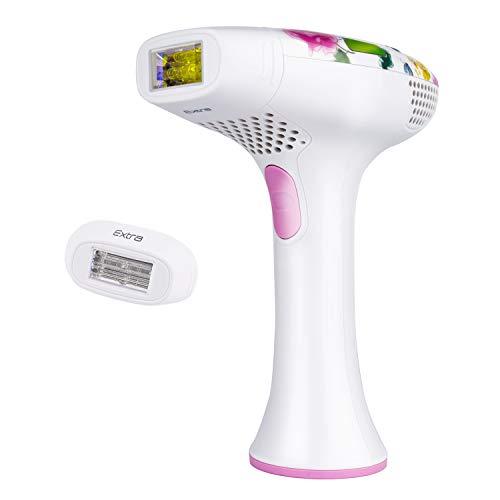 DEESS 2 in 1 IPL Gerät GP585 mit Haarentfernungssystem und Schönheitsgerät, 445000 Mal Lichtimpulsen für Haarentfernung und Anti-Akne, 2 Jahre Garantiezeit.