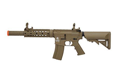 Lancer Tactical Airsoft M4 SD GEN 2 Polymer AEG - TAN